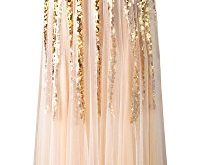 angel fashions damen gold paillette schatz tuell schnueren hochzeitskleid small 200x165 - Angel-fashions Damen Gold Paillette Schatz Tüll Schnüren Hochzeitskleid Small