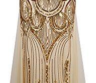 angel fashions damen paillette tragerlos schatz gitter schnuren bankett kleid small gold 191x165 - Angel-fashions Damen Paillette Tragerlos Schatz Gitter Schnuren Bankett-Kleid Small Gold